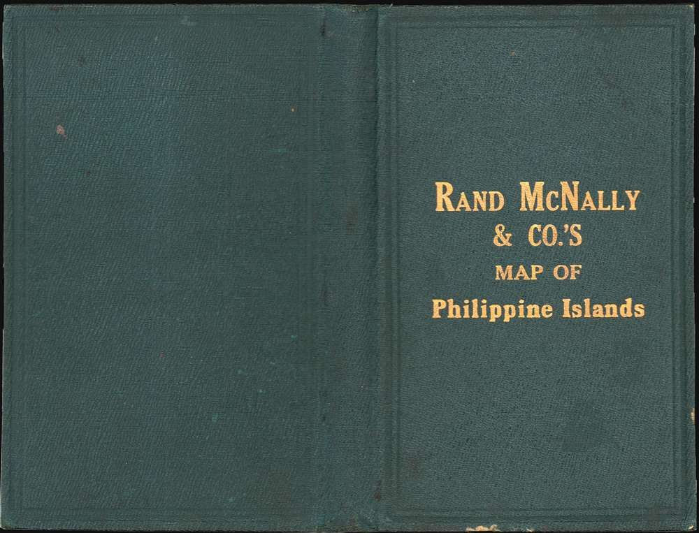 The Rand-McNally New Library Atlas Map of Philippine Islands. - Alternate View 2