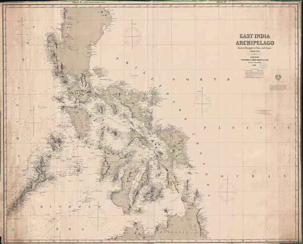 East India Archipelago [Eastern Passages to China and Japan] [Chart No. 6].