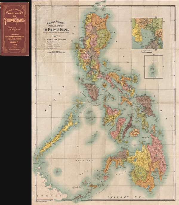 Kemlein and Johnson's Pocket Map of the Philippine Islands.