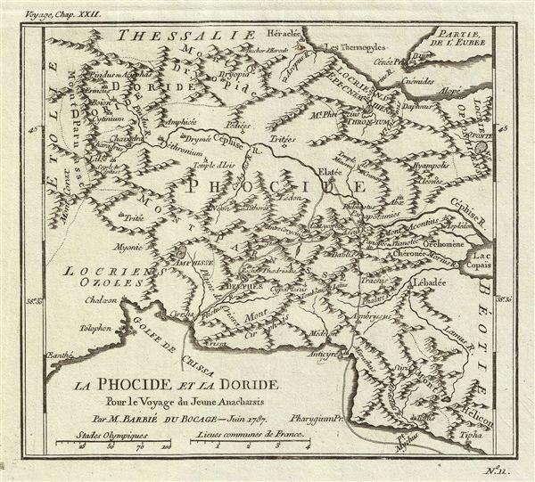 La Phocide et la Doride Pour le Voyage du Jeune Anacharsis.