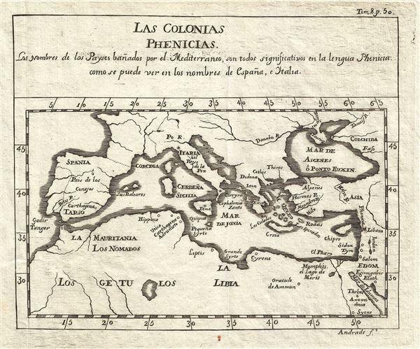 Las Colonias Phenicias.