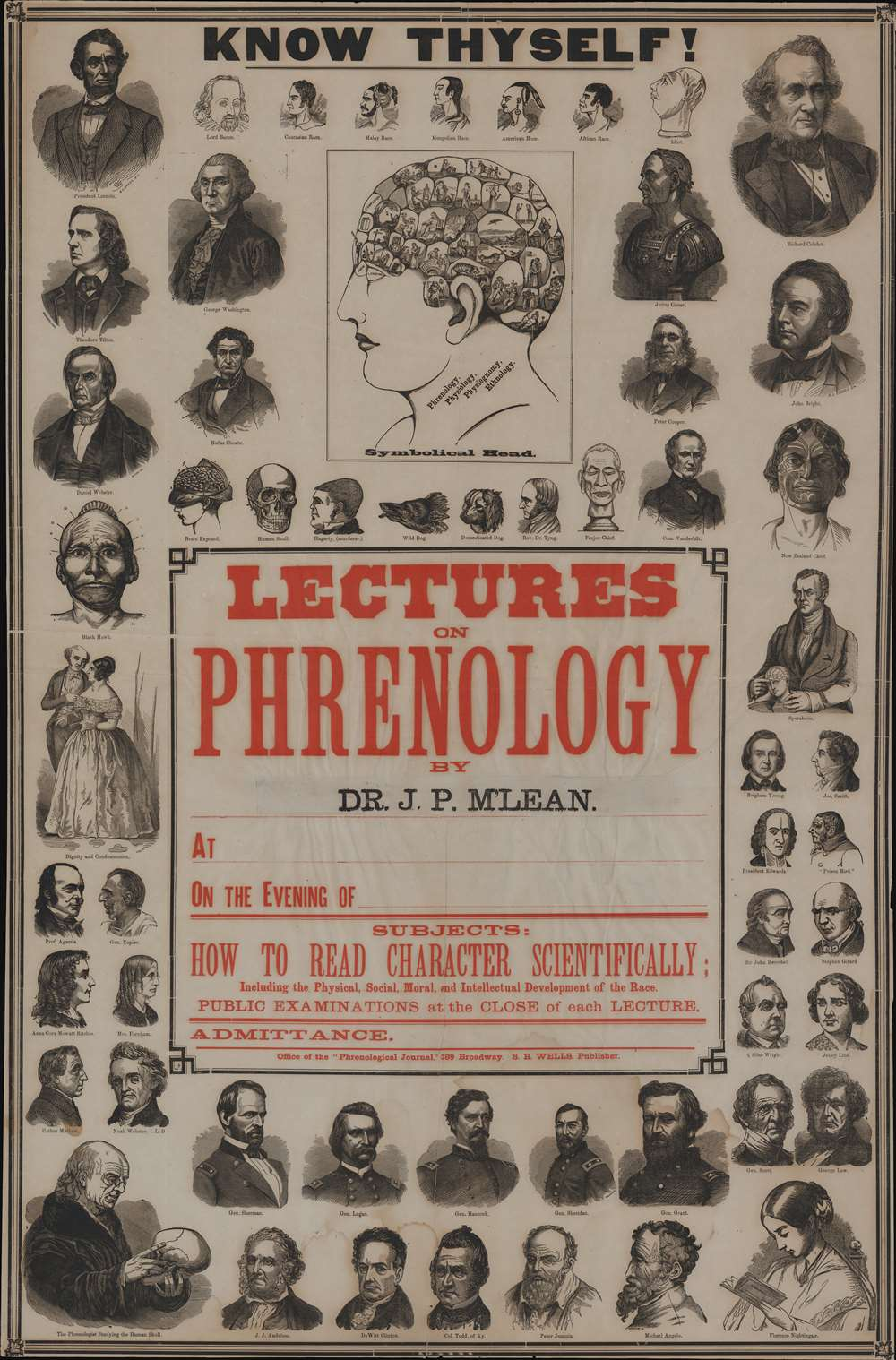 Know Thyself! Lectures on Phrenology by Dr. J. P. M'Lean.