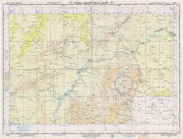 Piaui Range Brazil.
