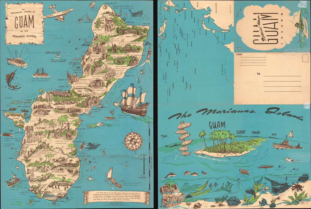The Historical Island of Guam of the Marianas Islands. - Main View