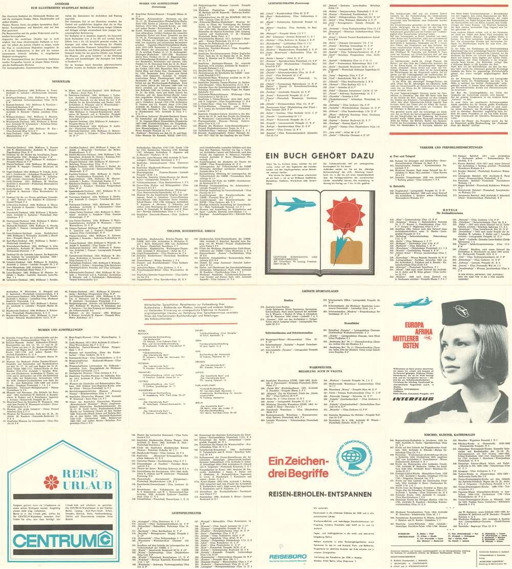 Moskau Illustriertes Schema. - Alternate View 1