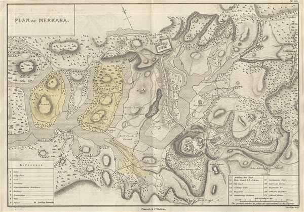 Plan of Merkara. - Main View