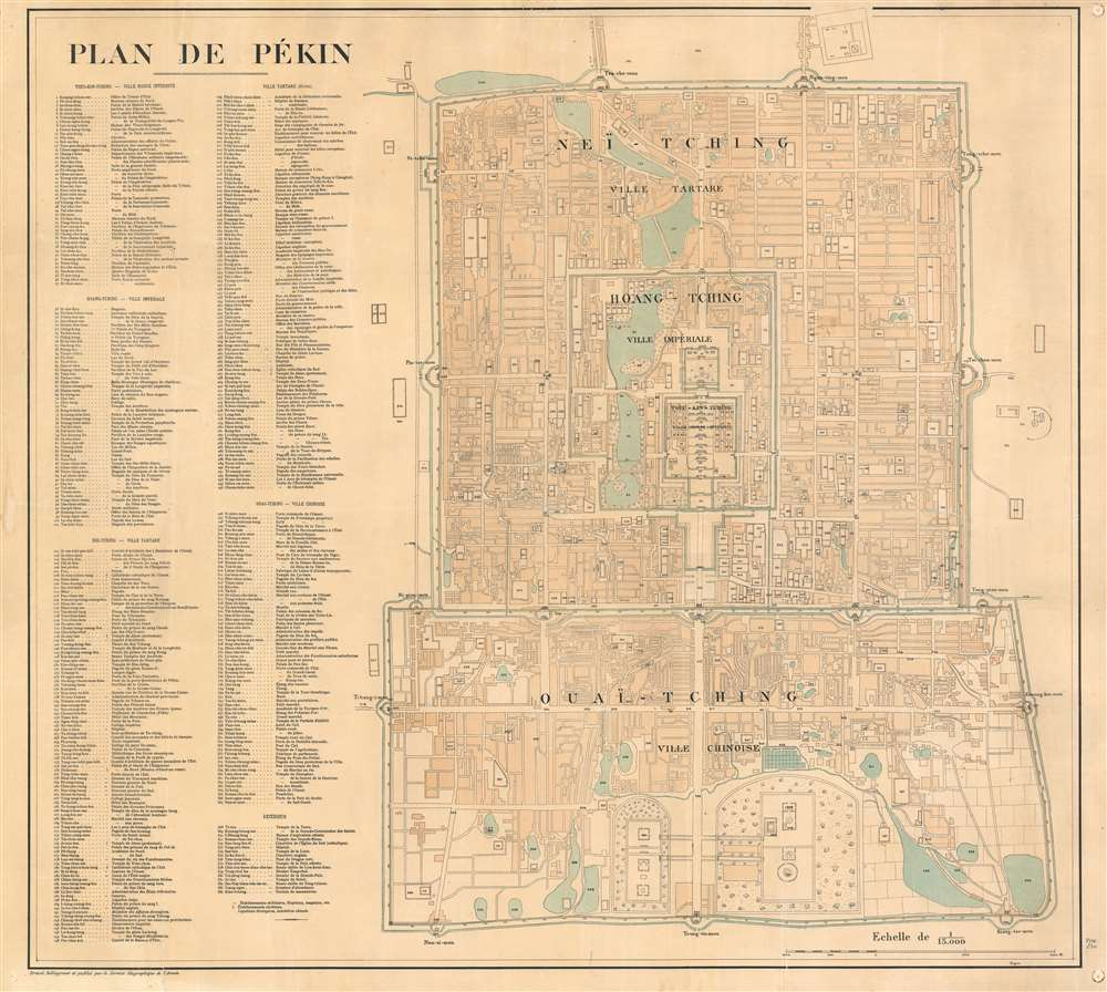 Plan de Pékin. - Main View