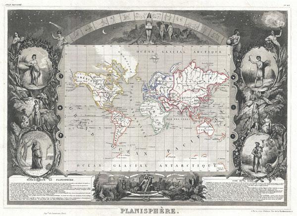 Planisphere.