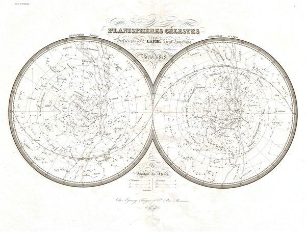 Planispheres Celestes. - Main View