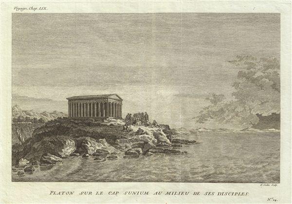 Platon sur le cap Sunium au Milieu de ses Disciples.