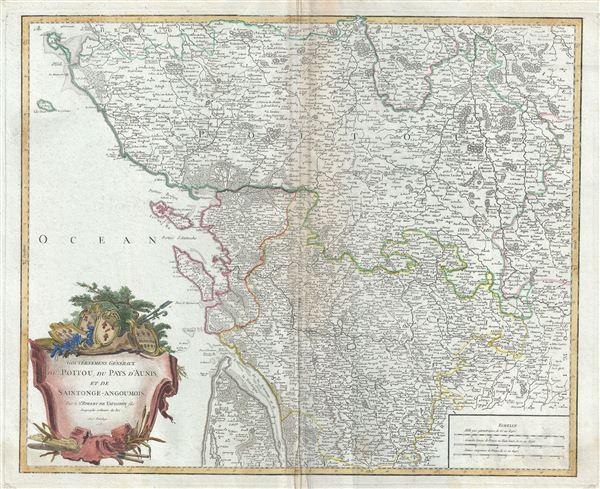 Gouvernemens Generaux du Poitou, du Pays d'Aunis, et de Saintonge-Angoumois. - Main View