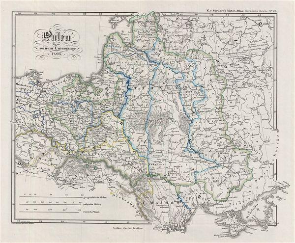 Polen bis zu seinem Untergange 1795.