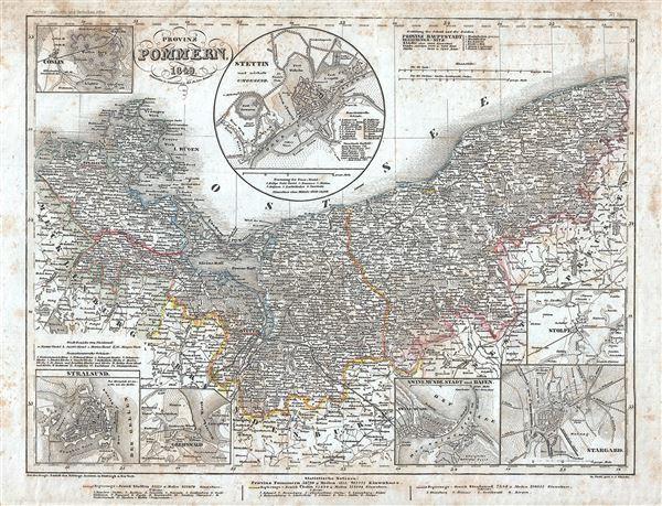 Provinz Pommern.