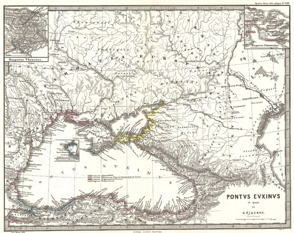 Pontus Euxinus et quae ei adjacent.