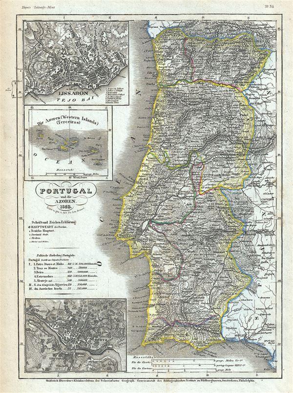 Portugal und die Azores.