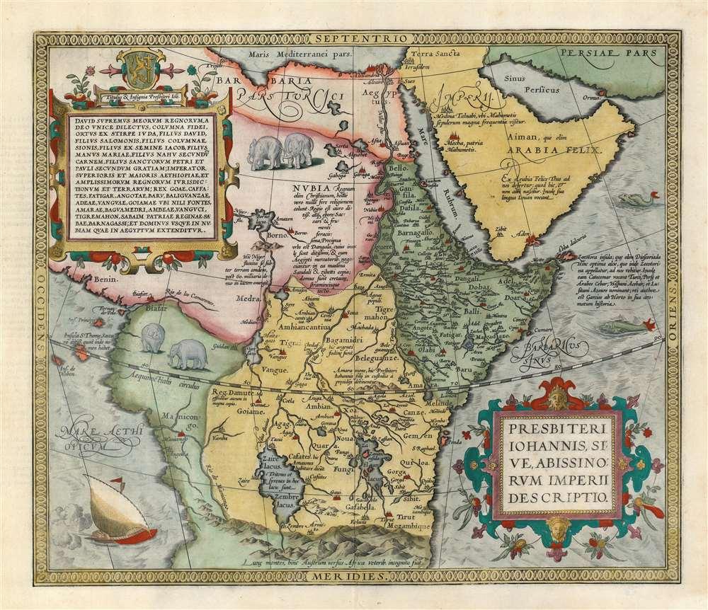 Presbiteri Iohannis, Sive, Abissionrum Imperii Descriptio.