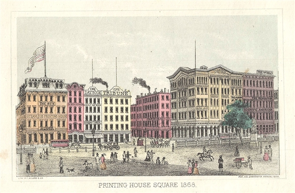 Printing House Square 1868.