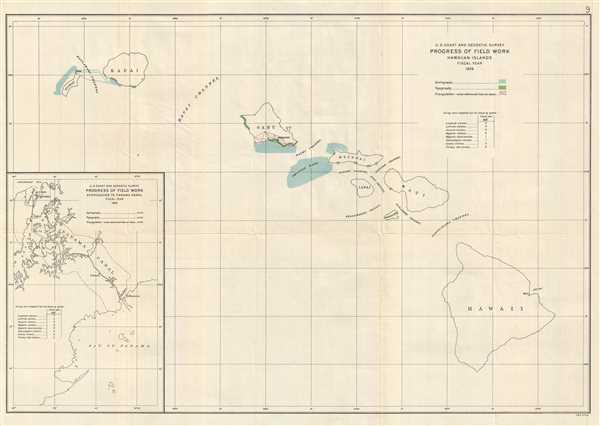 U.S. Coast and Geodetic Survey Progress of Field Work Hawaiian Islands Fiscal Year 1926.