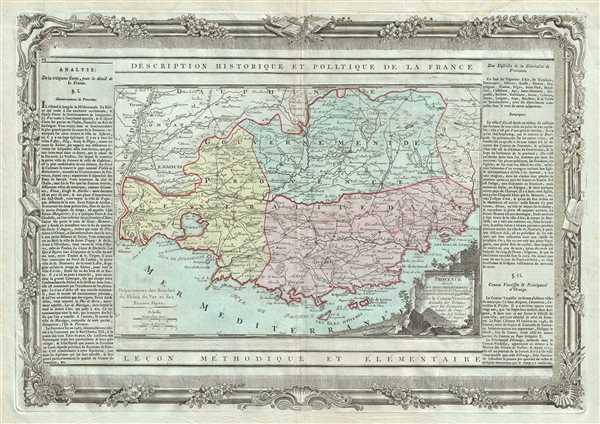 Provence, Divisee en Trois Departemens.