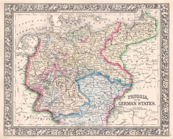 Prussia and the German States. - Main View