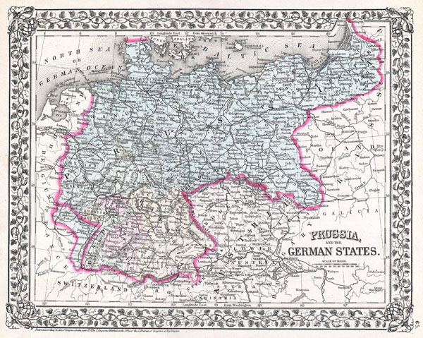 Prussia and the German States.