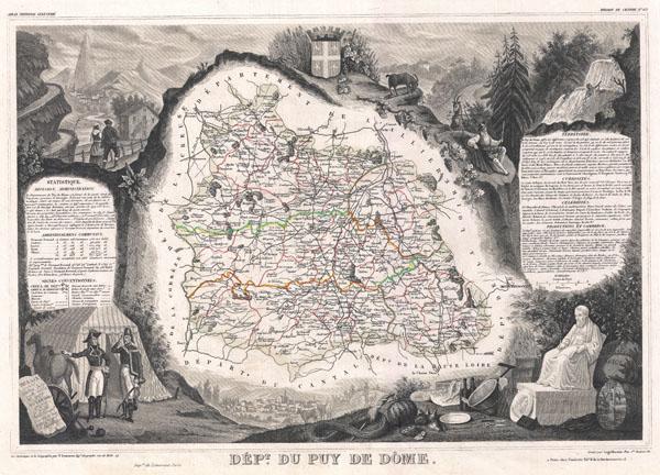 Dept. du Puy De Dome.