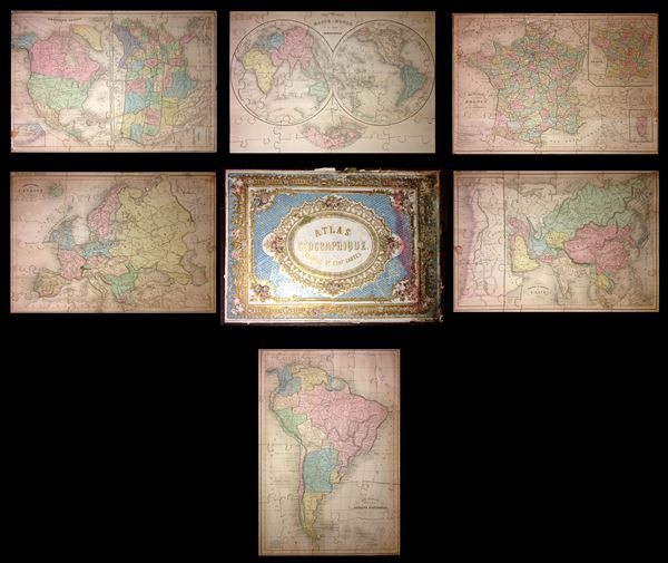 Atlas Geographique, Compse de Cent Cartes.