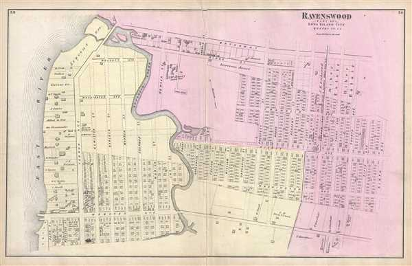Ravenswood, Part of Long Island City, Queens, Co. L.I.