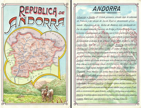 Republica de Andorra.