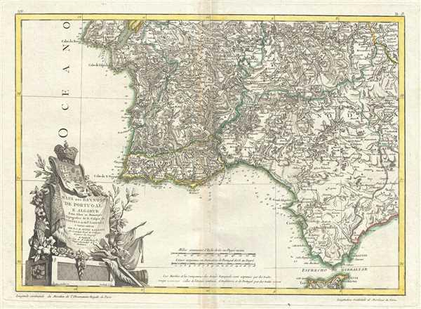Mapa dos Reynos de Portugal e Algarve. - Main View