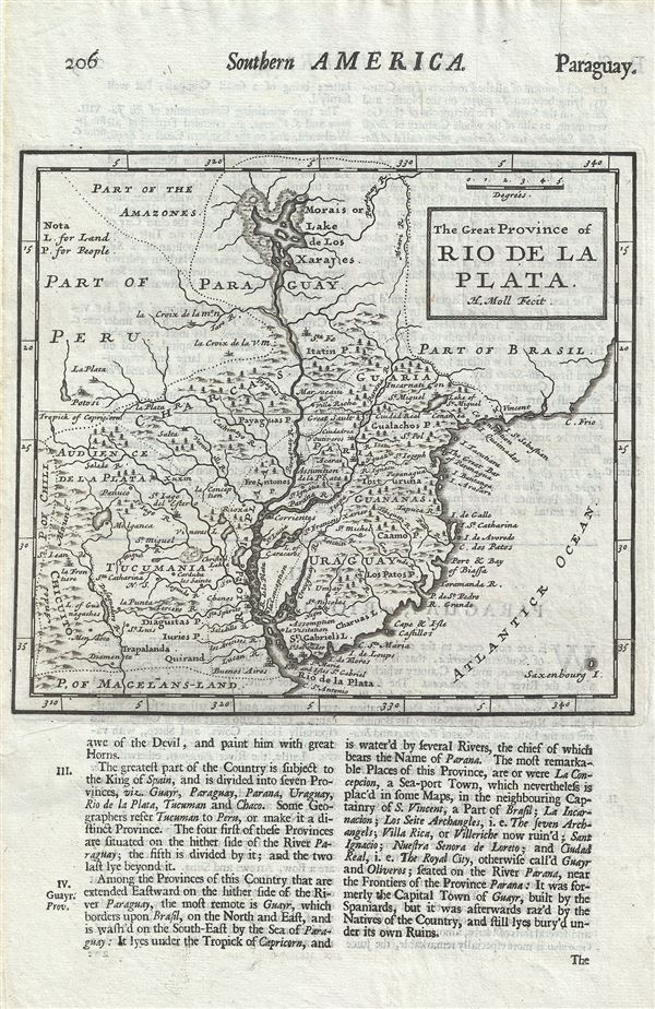 The Great Province of Rio de la Plata.