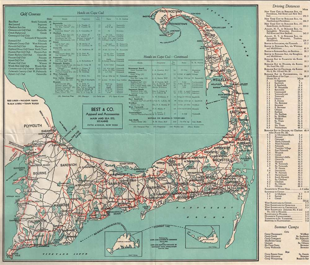 Welcome to Cape Cod Road Map and Directory.