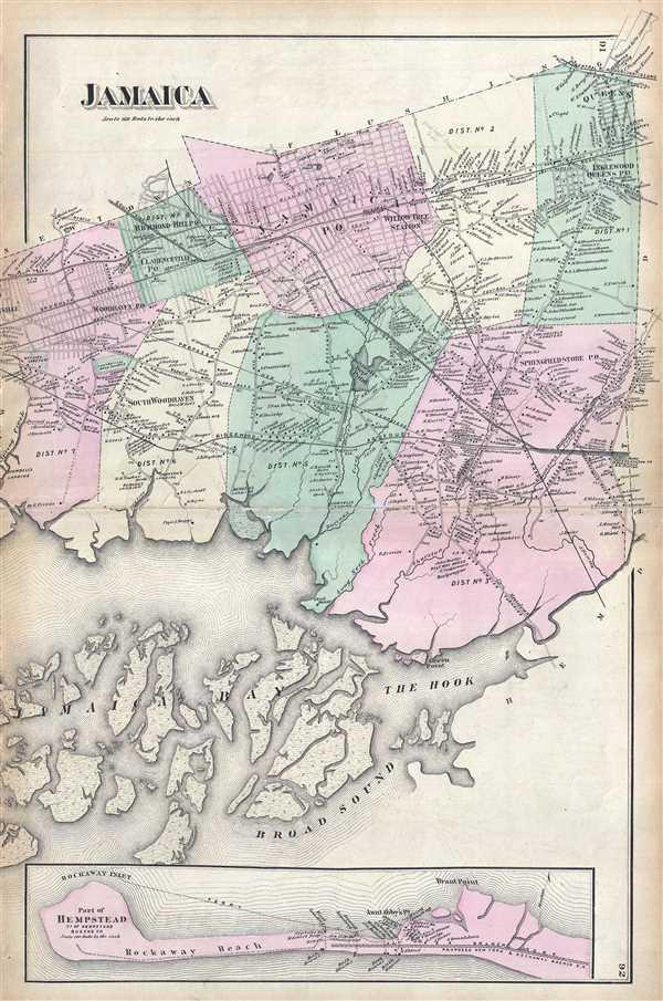 Map Of New York Jamaica.Jamaica Geographicus Rare Antique Maps
