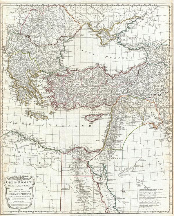 Orbis Romani Pars Orientalis Auspiciis Serenissimi Principis Ludovici Philippi Aurelianorum Ducis Publici juris Facta…