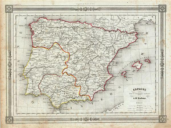 Espagne sous l'Empire Romain.