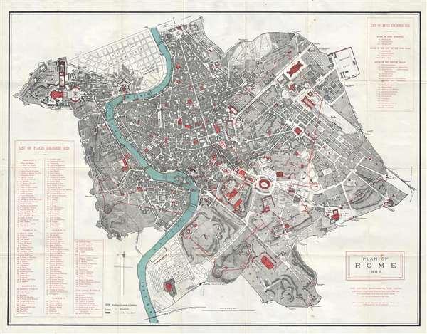 Plan of Rome.