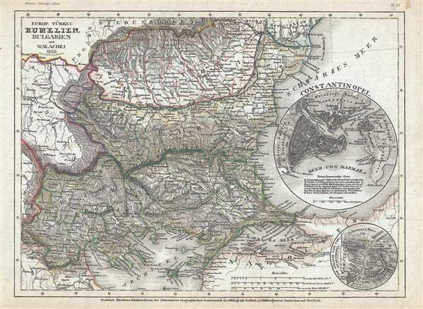 Europ. Turkei: Rumelien, Bulgarien und Walachei.