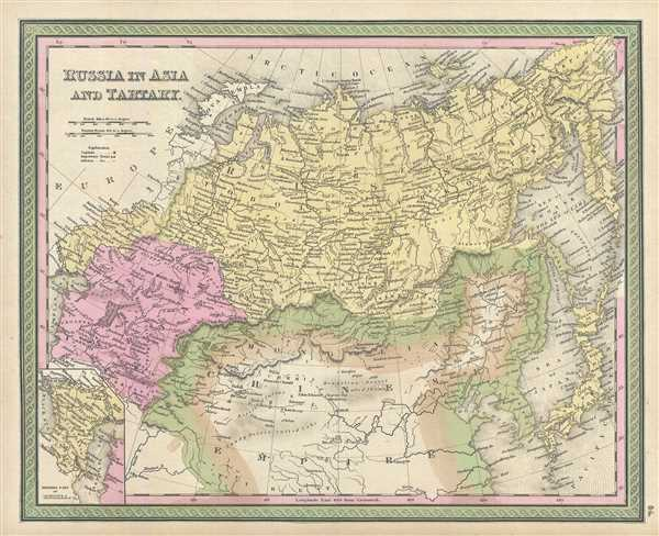 Russia in Asia and Tartary. - Main View