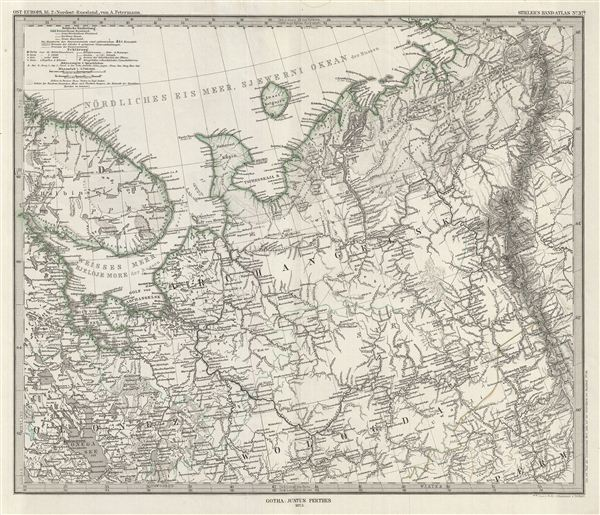 Ost-Europa, Bl. 2: Nordost - Russland. - Main View