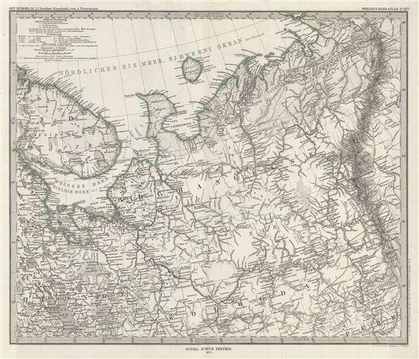 Ost-Europa, Bl. 2: Nordost - Russland.