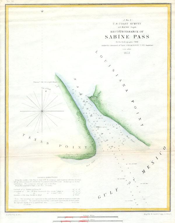 Reconnoissance of Sabine Pass.