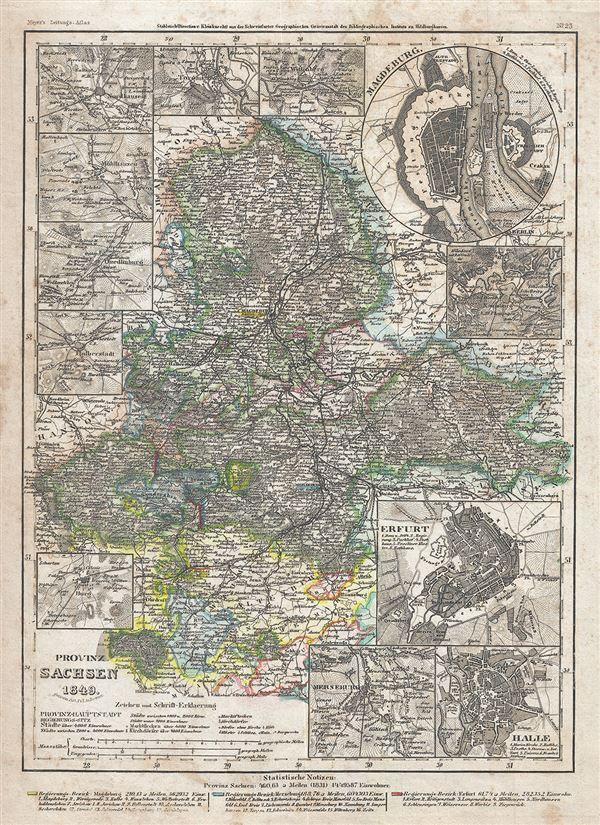 Provinz Sachsen.