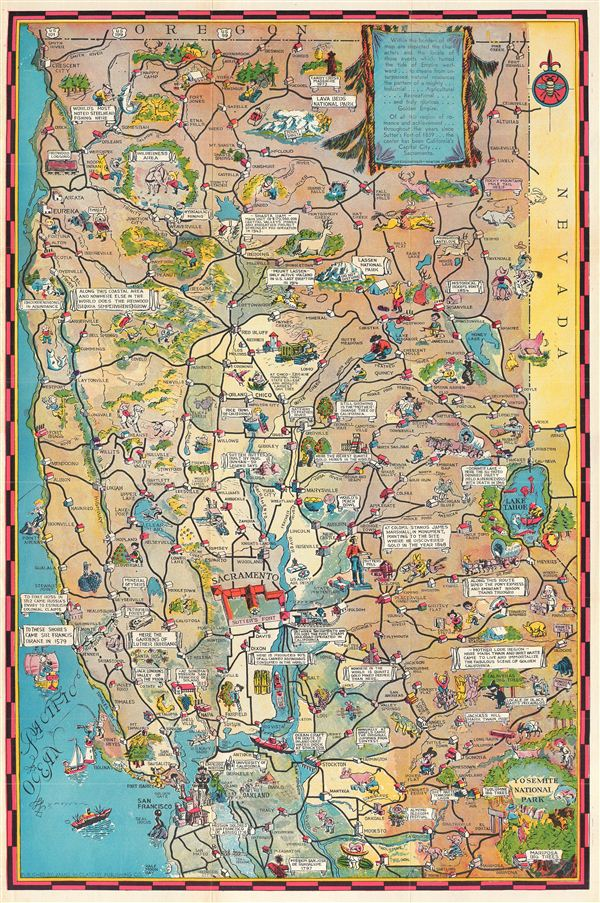 Geographicus rare antique maps for Sac bee fishing line
