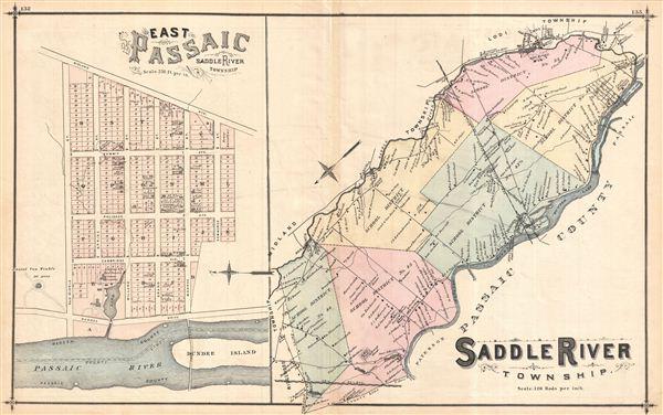Saddle River Township. - Main View