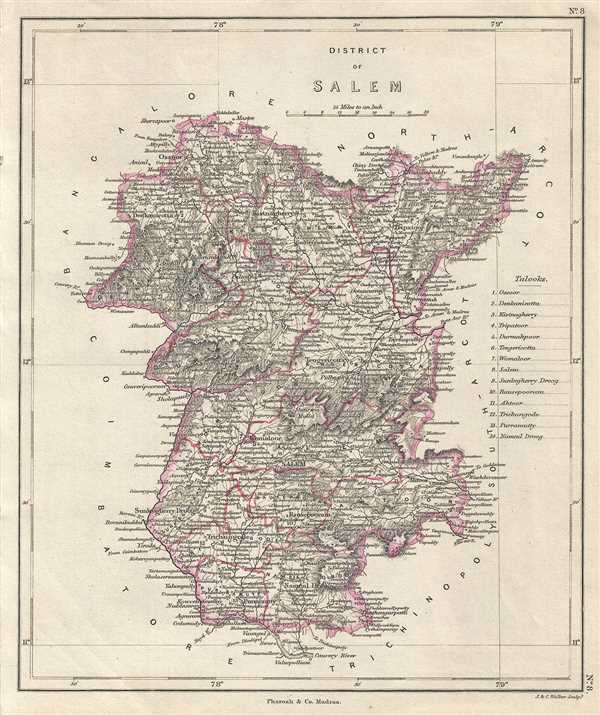 District Of Salem Geographicus Rare Antique Maps