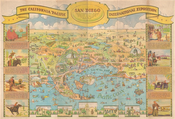 The California Pacific International Exposition.  San Diego.