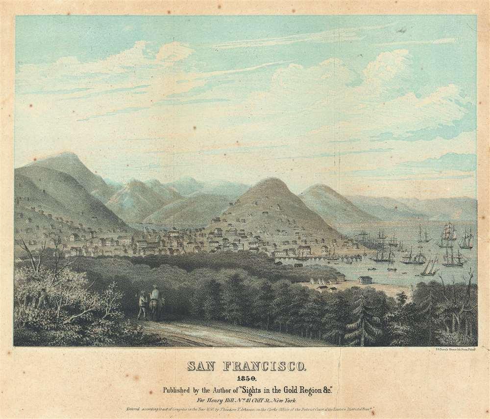 San Francisco. 1850. - Main View