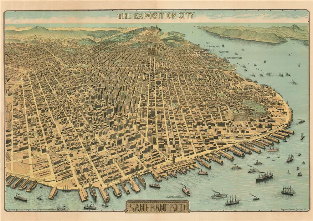 The Exposition City San Francisco. - Main View