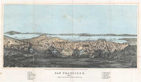 San Francisco. 1854. - Main View