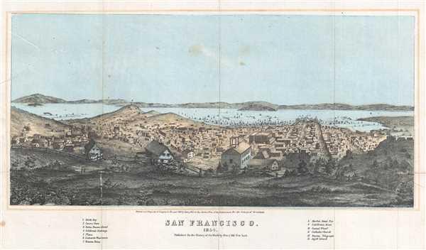 San Francisco. 1854.